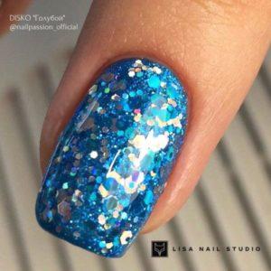 гель-краска-nailpassion-disco-голубая фото