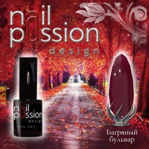 гель-лак-nailpassion-багряный бульвар фото