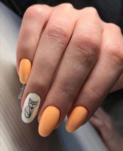 гель-лак-nailpassion-зрелый манго фото
