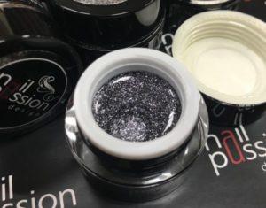 гель-платина-nailpassion-графит фото