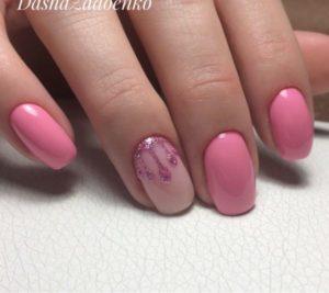 гель-лак-nailpassion-гламурный розовый фото