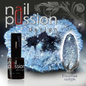 гель-лак-nailpassion-голубая лазурь фото