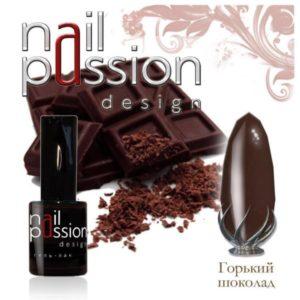 гель-лак-nailpassion-горький шоколад фото