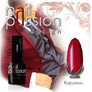 гель-лак-nailpassion-кардинал фото