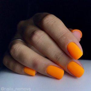 гель-лак-nailpassion-коктейль-оранж фото