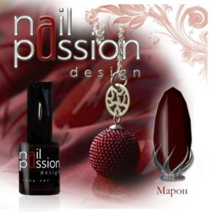 гель-лак-nailpassion-марон фото