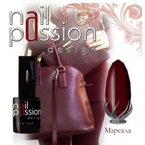 гель-лак-nailpassion-марсала фото