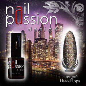 гель-лак-nailpassion-ночной нью-йорк фото