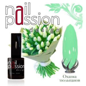 гель-лак-nailpassion-охапка тюльпанов фото