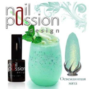 гель-лак-nailpassion-освежающая мята фото
