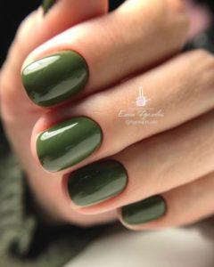 гель-лак-nailpassion-позняя зелень фото