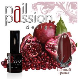гель-лак-nailpassion-сочны гранат фото