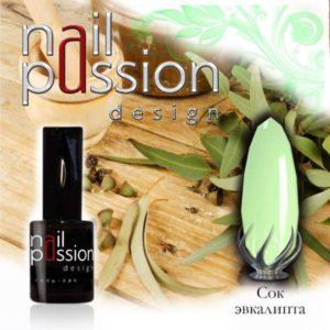 гель-лак-nailpassion-сок эвкалипта фото