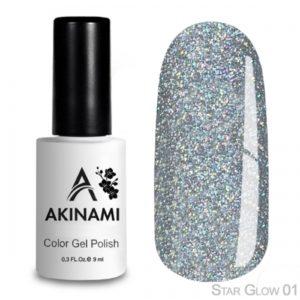 гель-лак-akinami-star glow-01 фото