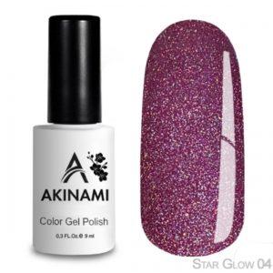 гель-лак-akinami-star glow-04 фото