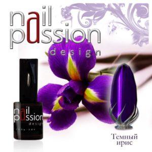 гель-лак-nailpassion-темный ирис фото