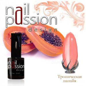 гель-лак-nailpassion-тропическая папайя фото