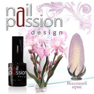 гель-лак-nailpassion-весенний ирис фото