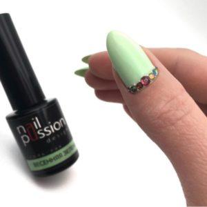 гель-лак-nailpassion-весенняя зелень фото