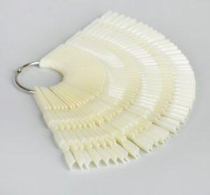 палитра для лаков и гель-лаков по 3 ногтя фото